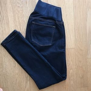 Gap Maternity Demi panel Always Skinny Jeans